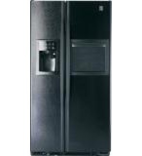 GE 30 Cu.ft. GSE30VHBTBB Side by Side Black Refrigerator 220 Volts