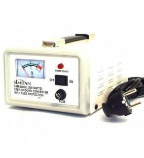 Simran SYM300, 300 Watt Step Up & Down Voltage Converter Transformer with Meter 110-220 volts