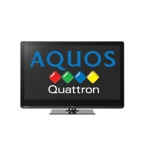 "SHARP AQUOS 52"" LC52LE820M QUATRON LED MULTISYSTEM TV FOR 110-220 VOLTS"