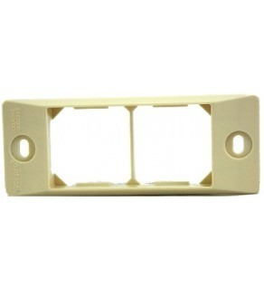 Buried Frame Dual Outlet Face Plate