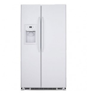 Ge 20 Cu.Ft Gse20Jewf- Ww Side By Side Refrigerator 220 Volts