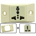 Type A through L Universal Electrical Receptacle Outlet 20 AMPS, With Face Plate