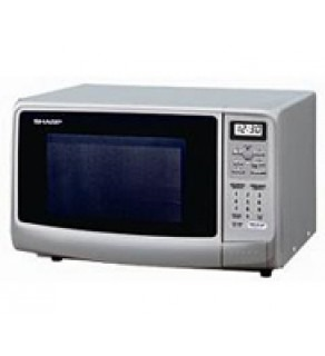 SHARP MICROWAVE 0.8 SILVER FOR 220 VOLTS