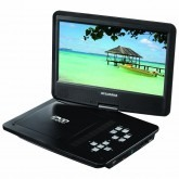 "Sylvania 10"" Region Code Free Portable Dvd Player 110 220 Volts"