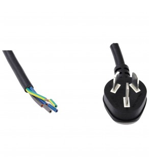 Regvolt AC Power Cord China Down Angle Plug to ROJ