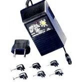 World Travel AC Adapter 600ma , 3VDC - 4.5VDC - 6VDC - 7.5VDC - 9VDC - 12VDC