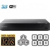 Sony BDP-S5500 Multi Region Code Free DVD 3D WiFi Blu-ray Disc Player