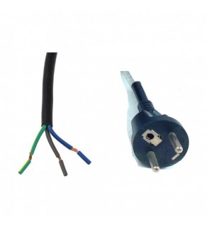 Regvolt Power Cord France CEE7/5 Male Plug16a/250v French (Unterminated ROJ)