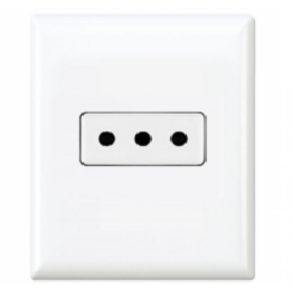 Type L Electrical Receptacle Outlet for Italy 10 amps 250v ...