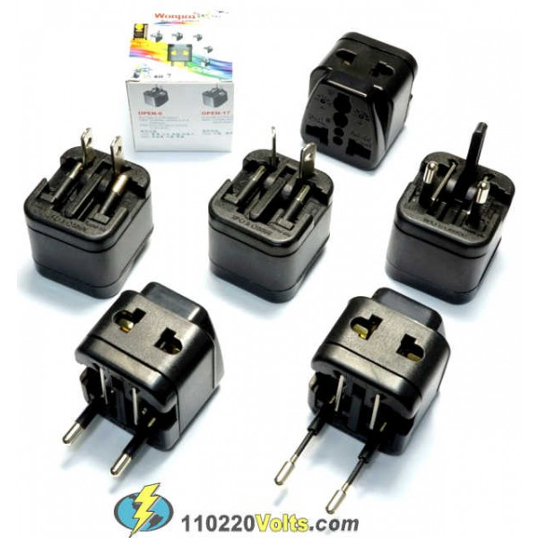 how to open wonpro travel universal adapter