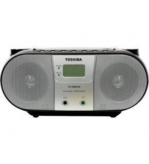 Toshiba TX-CRM10D Stereo Boom Box CD Radio Player 220 Volts
