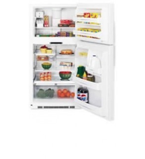 Ge 25 Cu.Ft Pte25Sbt-Ww Top Freezer Refrigerator 220 Volts