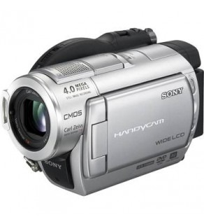 Sony DCR-DVD808E DVD Handycam Camcorder for PAL Use
