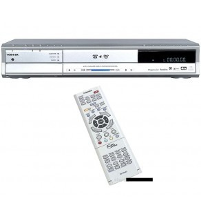 TOSHIBA 80GB DIGITAL MEDIA CODE FREE DVD HDD RECORDER - PLAYER