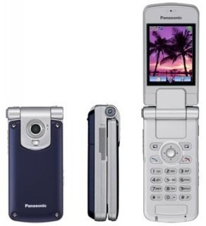 PANASONIC TRIBAND UNLOCKED GSM PHONE