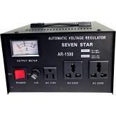 1500 Watts Step Up and Down Voltage Converter Regulator Transformer AR1500, 110-220 Volts