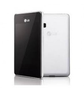 LG T375 White-White Unlocked GSM Phone (Default)