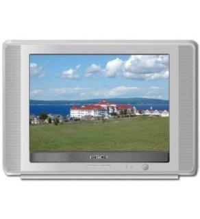 Hitachi 21 Multi-System Flat Screen TV