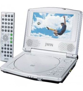 JWIN ELECTRONICS Portable DVD Player