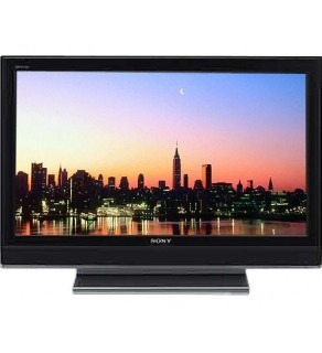 "Sony KLV-46V300A 46"" Multi-System HDTV LCD TV with 1080p, 2 HDMI inputs and PC Input"