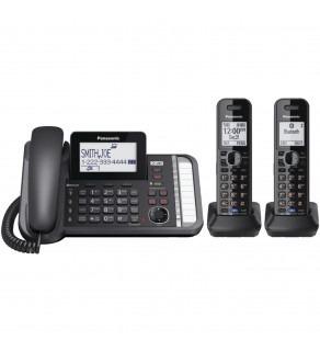 Panasonic KX-TG9582B DECT 6.0 2-Line Expandable