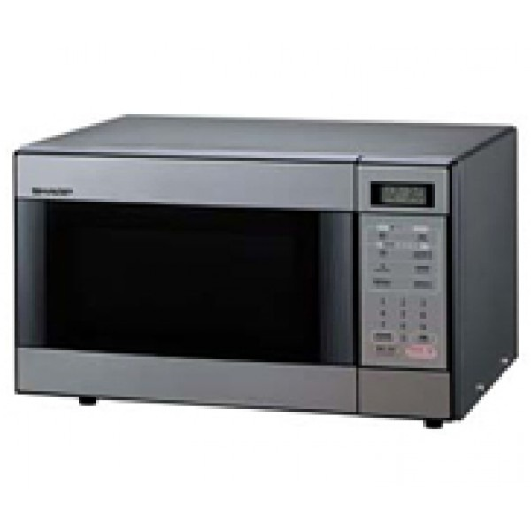 Sharp R298h Stainless Steel Touch Control Microwave Oven 220 Volts