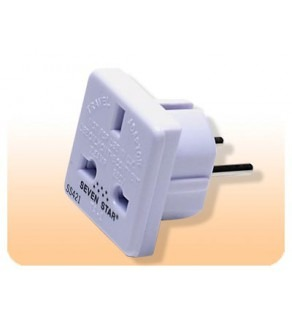 UK European Shucko plug adapter