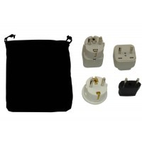 Czech Republic Power Plug Adapters Kit With Travel