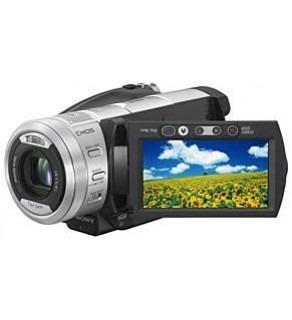 Sony HDR-SR1E PAL Digital Camcorder for European Use
