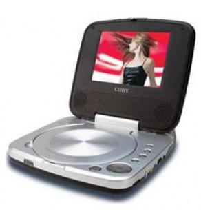 COBY TF-DVD5005 CODE FREE DVD PLAYER-PLAYS ANY DVD FROM ANYWHERE IN THE WORLD!