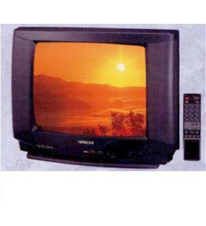 "Hitachi 20"" Twin Speaker Multi Standard TV"