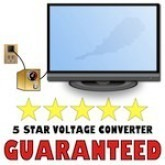 TV's LED, LCD, Plasma, and DLP Voltage Converter Transformer Kit For 110 or 220 VOLTS