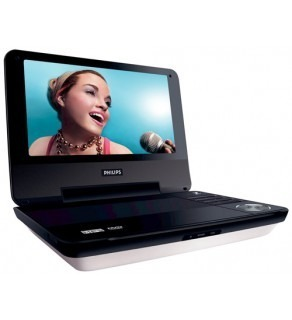 PHILIPS PET-940 9'' PORTABLE DVD PLAYER FOR 110-220 VOLTS
