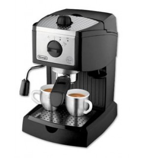 DeLonghi EC155 15 BAR Pump Espresso and Cappuccino Maker 220 volts