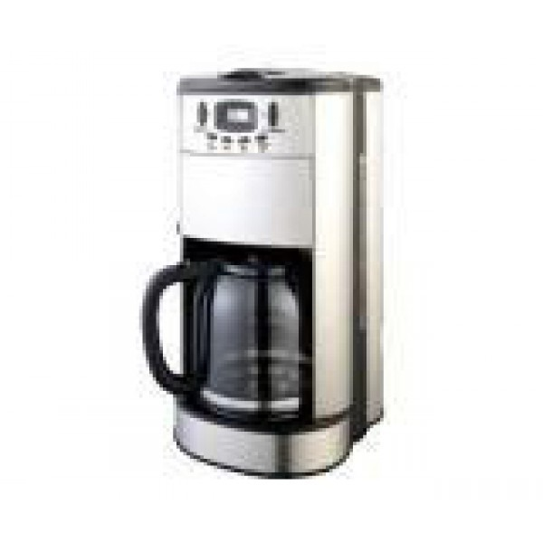 Frigidaire Coffee Maker Flashing Cup : Frigidaire FD7188 12-Cup Coffee Maker 220 Volts, 110220Volts.com