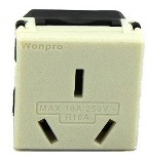 Type I Electrical Receptacle Outlet for Australia & New Zealand