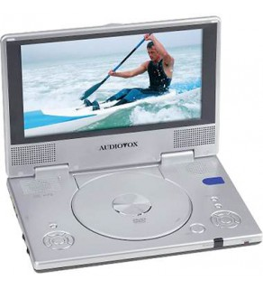 AUDIOVOX D1915 CODE FREE PORTABLE DVD PLAYER