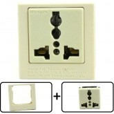 Type A through L Universal Electrical Receptacle Outlet 20 AMPS, With Panel Face