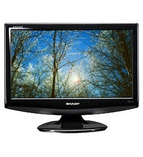 "Sharp LC-19A33M 18.5"" Multi-System LCD HDTV"