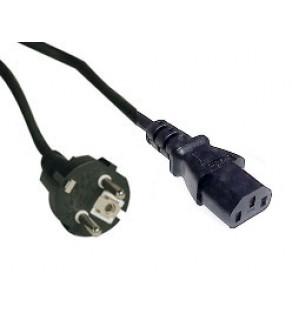 European Schuko power cord