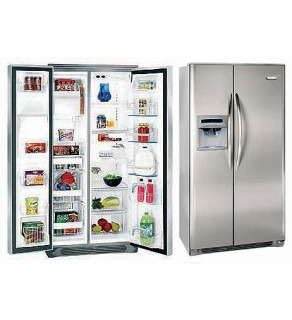 Frigidaire 26 Cft Gpse28V9Gs Side By Side Refrigerator