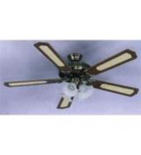 "Siberair 5254A 52"" Woodtone Ceiling Fan 220 Volts"