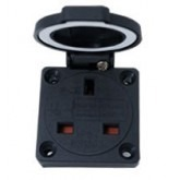 Type G Electrical Receptacle Outlet for UK 13 Amp Panel Mount Flip Top