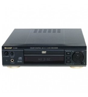 Sharp DV650 Region Free DVD Player 110 220 Volts (Default)