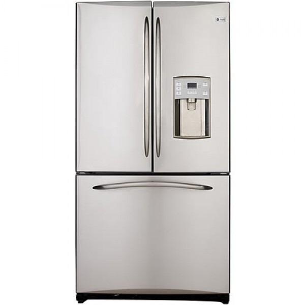 Ge 21 Cuft Pfce1njzd Ss Bottom Freezer French Door Refrigerator