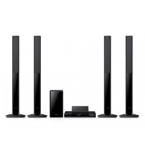 Samsung HT-F4550 3D 500W 5.1 Channel Blu-ray Region B only Home Cinema System with 4x Speakers 110-240 Volts