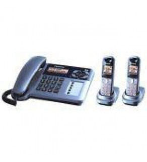 Panasonic KX-TG1062M DECT6.0 Expandable Digital Cordless Phone with Answering System
