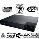 Sony BDP-S6500 Region free 4K 3D Wi-Fi Blu-Ray DVD Player 110-220