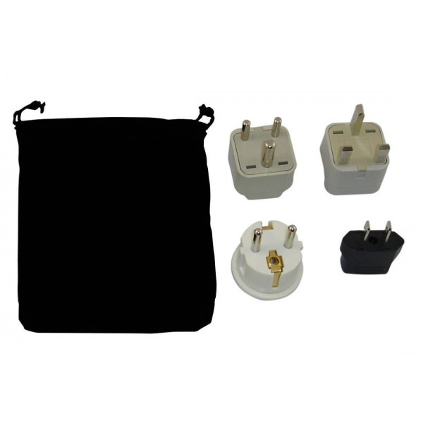 220 Volt Outlet >> Lebanon Power Plug Adapters Kit with Travel Carrying Pouch ...