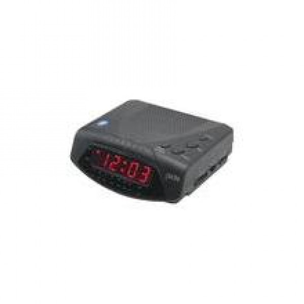 jwin jl204 black am fm alarm clock radio. Black Bedroom Furniture Sets. Home Design Ideas